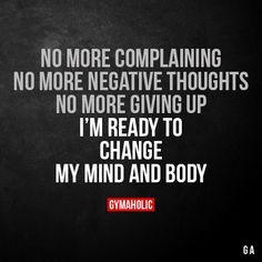 No More Complaining