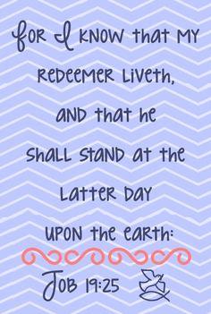 JOB  19:25  KJV