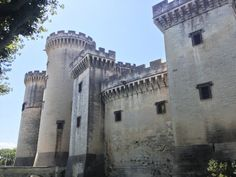 We could see this castle from our @VikingRiver #VikingLongship, docked in Tarascon, France