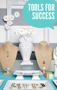 Tips for a Successful launch party/ jewelry bar® for your Origami Owl® business.