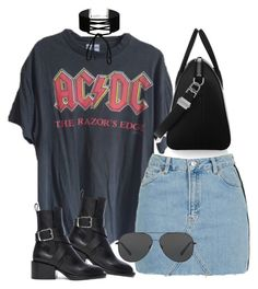 """""""Sem título #1342"""" by oh-its-anna ❤ liked on Polyvore featuring Givenchy, Topshop, Jil Sander, Miss Selfridge and Michael Kors"""