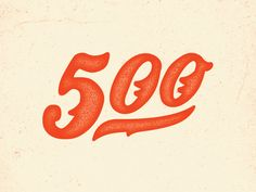 500 Followers by Tyler Anthony