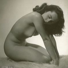 Elizabeth Taylor aged 24 in the photograph she gave to third husband Michael Todd. The picture was taken by one of her closest friends, actor and photographer Roddy McDowall