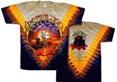 Grateful Dead - Harvester Short Sleeve T-Shirt Grateful Dead fall harvester tie dye t-shirt. Tie Dye Shirts, Band Shirts, Dye T Shirt, Tee Shirts, Grateful Dead Merchandise, Grateful Dead Shirts, Hippie Shop, Hippie Style Clothing, Dead Man