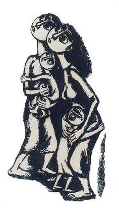 ΚΑΤΡΑΚΗ ΒΑΣΩ ''Μάνα'' 1958-59 Χάραξη σε πέτρα Greek Paintings, Arm Art, Engraving Art, Stamp Printing, Portraits, Greek Art, 10 Picture, Color Of Life, Vincent Van Gogh