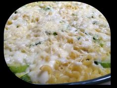 { Thermomix } Gratin de coquillettes, Courgettes