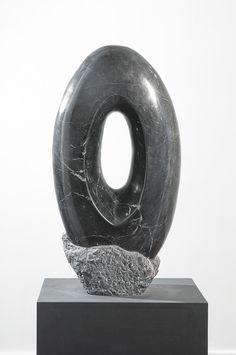 Leopoldino de Abreu -#Sculpture - Brazilian black marble 2012