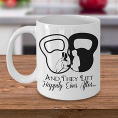 Newlyweds Funny Coffee Mug - And They Lift Happily Ever After - Valentine's or Wedding Gift for WeightLifting/Crossfit/Body Building couples Wedding Gifts For Newlyweds, Best Wedding Gifts, Newlywed Gifts, Trendy Wedding, Wedding Stuff, Funny Coffee Mugs, Coffee Humor, Building Photography, Photography Tips