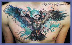 Raven Splash by Akima-Hawa-Nedegie.deviantart.com on @deviantART