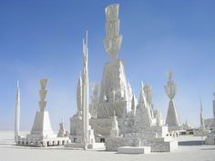 Burning Man | One of the older temples from many many moons ago.