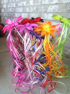 Flower Fairy Wands Party Pack by Varietyislife on Etsy https://www.etsy.com/listing/151584299/flower-fairy-wands-party-pack