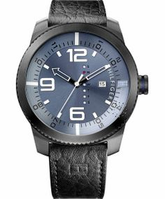 Tommy Hilfiger men's watch. Our handsome sport watch with a week of the day feature to keep you stylishly of-the-moment. Gents Watches, Sport Watches, Watches For Men, Zapatos Tommy Hilfiger, Tommy Hilfiger Watches, Watch Cufflinks, Skagen, Emporio Armani, Hugo Boss