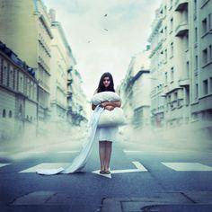 Surreal streets by Julie de Waroquier