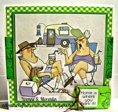 2 Old Campers 8 pc set. Sells 13.99.  Made by:Art Impressions rubber stamps You can purchase these from my ebay store: Pat's Rubber Stamps & Scrapbooks, Click on the picture & see the listing , or call me 423-357-4334 with order, We take PayPal. You get FREE SHIPPING ON PHONE ORDERS of $30.00 or more. If it says sold I have more. Use my search engine to find the items you are interested in my store