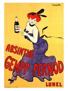 Absinthe in Vintage Poster Art