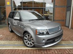 2013 Range Rover Sport 3.0 SDV6 Autobiography in Orkney Grey with black and ivory interior.