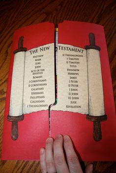 New Testament Lap Book