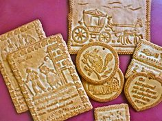 Tirggel - Traditional Honey Cookies of Zürich (Story and Recipe)