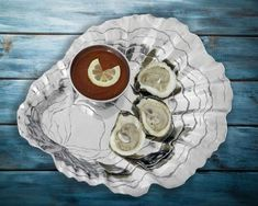 Oyster with Pearl Chip and Dip