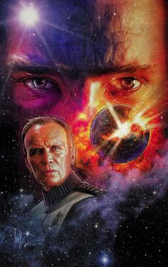 Paul Shipper's Amazing Cover Art to Star Trek Khan #4. Peter Weller!