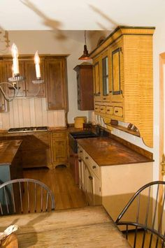 primitive kitchen and bath Kitchen Redo, New Kitchen, Kitchen Remodel, Kitchen Dining, Kitchen Ideas, Kitchen Towels, Kitchen Designs, Kitchen Cabinets, Dining Rooms