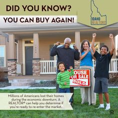 Are you ready to buy again? A REALTOR can help!