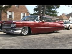1959 Cadillac We Go For A Ride! Air Bag Suspension! Yes! - YouTube