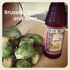 Brussels Sprouts w/ beer and bacon