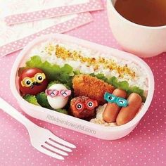 food picks with glasses goggles for Bento Box Lunch Box - Bento Accessories - Bento Boxes - Kawaii Shop Cute Bento Boxes, Bento Box Lunch, Bento Food, Quick Easy Vegan, Easy Healthy Recipes, Crispy Seaweed, Shrimp Recipes For Dinner, Bento Recipes, Food Picks