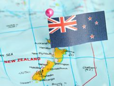 NZ Flag and Map