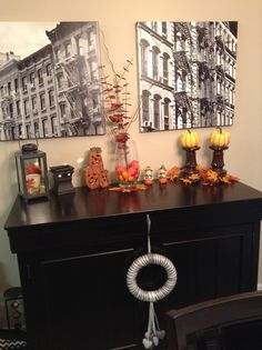 Easy autumn decor
