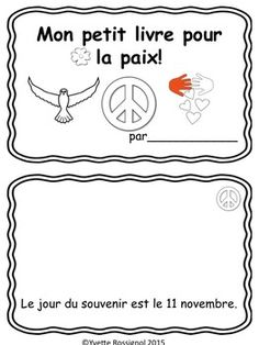 Browse over 280 educational resources created by Yvette Rossignol French Francais in the official Teachers Pay Teachers store. Teaching Kindergarten, Teaching Music, Remembrance Day Activities, French For Beginners, French Immersion, French Class, Early Childhood Education, Teacher Pay Teachers, Social Studies
