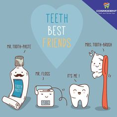 Our Company Defines our Character likewise, the state of teeth can be defined by the products you are using to keep the teeth clean. Know the #best_friends of your #tooth such as #Toothpaste #brush #floss #gargle. For any #dental_assistance, contact Cosmodent #India #dental_Clinic #gurugram #delhi #bangalore #healthy_teeth #white_teeth