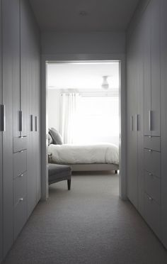 Contemporary Wardrobe Design. Vintage, modern, luxury or eclectic closet. See some decor tips for your own interior projects, walk in closets and wardrobes here: http://www.pinterest.com/homedsgnideas/
