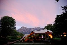 Photo by: Jean-Pierre Uys Marquee Wedding, Blank Canvas, Celebrity Weddings, House Styles, Camps, Travel, Inspiration, Wedding Ideas, Design