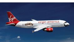 Fly the bearded skies: Virgin America unveils Brian Wilson plane – San Francisco Giants: The Splash Jets, Virgin America Airlines, Plane Photos, Cheap Air Tickets, Brian Wilson, Virgin Atlantic, Giants Baseball, San Francisco Giants, Travel Style
