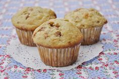 Banana Cinnamon Muffins @yourhomebasedmom.com  #recipes, #muffins