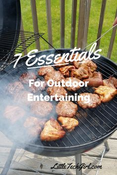 7 Essentials for Outdoor Grilling and Entertaining!