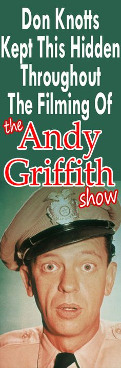 Fans Stunned As Don Knotts Blurts Out Why He Left 'The Andy Griffith Show'