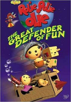 Rolie Polie Olie - The Great Defender of Fun [VHS] Movie Description: Rolie and friends rally against a space pirate who wants to steal the element of fun from Vhs Movie, Movie Gifs, The Great, Parents Choice, Space Pirate, Mermaid Parties, Cool Things To Buy, Stuff To Buy, Kid Stuff