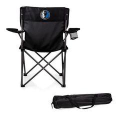 Black Dallas Mavericks Camping Chair