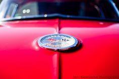 Red Corvette Photograph -  1961 Chevy Corvette by JKiesewetterPhotos - $20.00