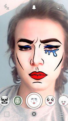 Snapchat Lenses – Crying Woman Cartoon Character Snapchat Lens ...