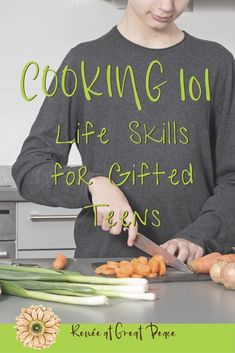 Teen cooking - Cooking 101 Life Skills for Gifted Teens – Teen cooking