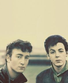 John and Paul -) dishy guys and eternal legend -)