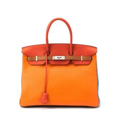 Now THATS my kind of bag.... i think i have a new crush.... Birkin+35+Arlequin+on+sale+at+LXR+&+Co.