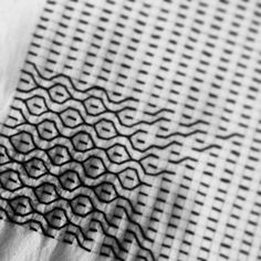 Blackwork Cross Stitch, Blackwork Embroidery, Hand Embroidery Stitches, Embroidery Techniques, Cross Stitch Embroidery, Embroidery Patterns, Shashiko Embroidery, Art Japonais, Japanese Embroidery