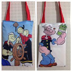 Bolsa dupla face Popeye