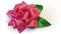 flores en cinta paso a paso - YouTube