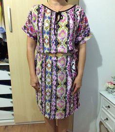 Vestido que fiz pra minha irmã lindo